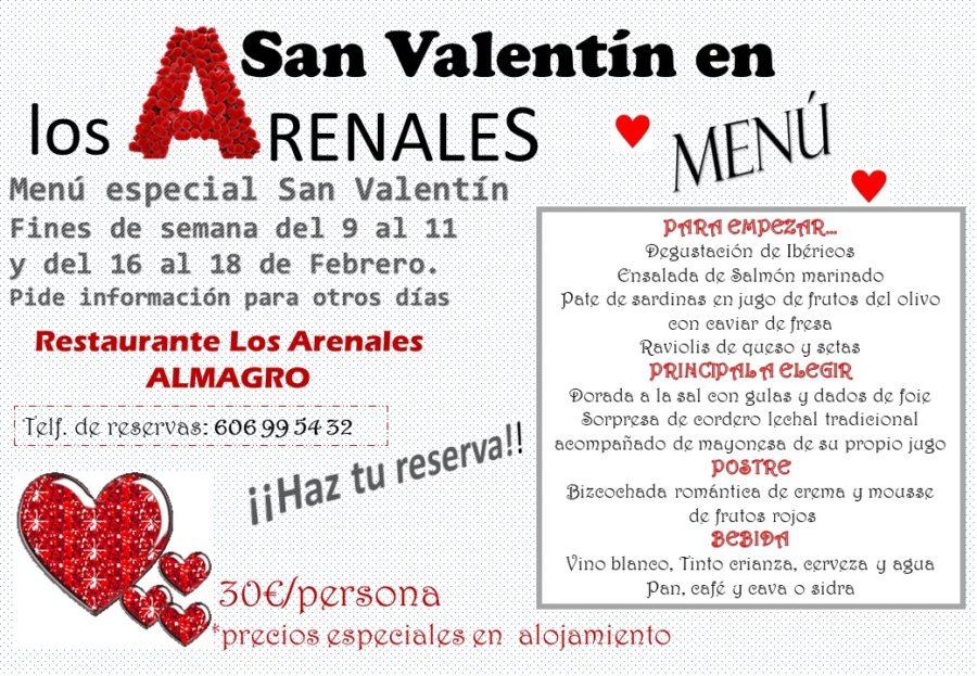 Menú Especial San Valentín